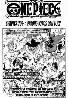 komik mini one piece chapter 704 bhs indonesia by komikmini